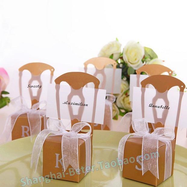 Wedding - Aliexpress.com : ซื้อสินค้า168ชิ้นจัดส่งฟรีครบรอบTH002 B2ขนาดเล็กเก้าอี้ทองกล่องลูกอมด้วยริบบิ้น จากผู้ขายที่วิดีโอกล่อง เชื่อถือได้บน Shanghai Beter Gifts Co., Ltd.