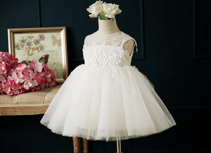 b47915b8f0 Off White Christening Dress