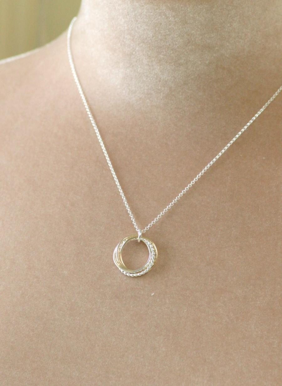 4 Best Friend Necklace Bridesmaid Jewelry 40th Birthday Gift 4