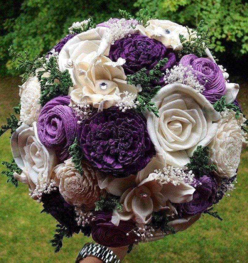 Mariage - Sola Flower Bouquet - Wedding Flowers - Bridal Bouquet