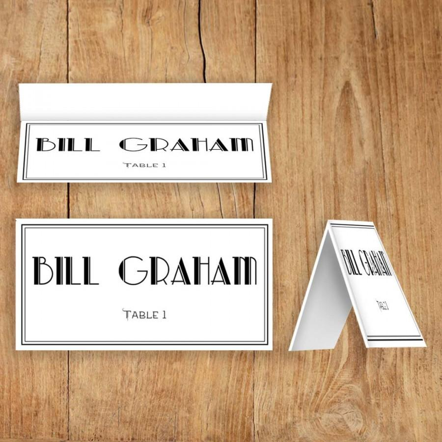 It is a picture of Decisive Printable Escort Cards