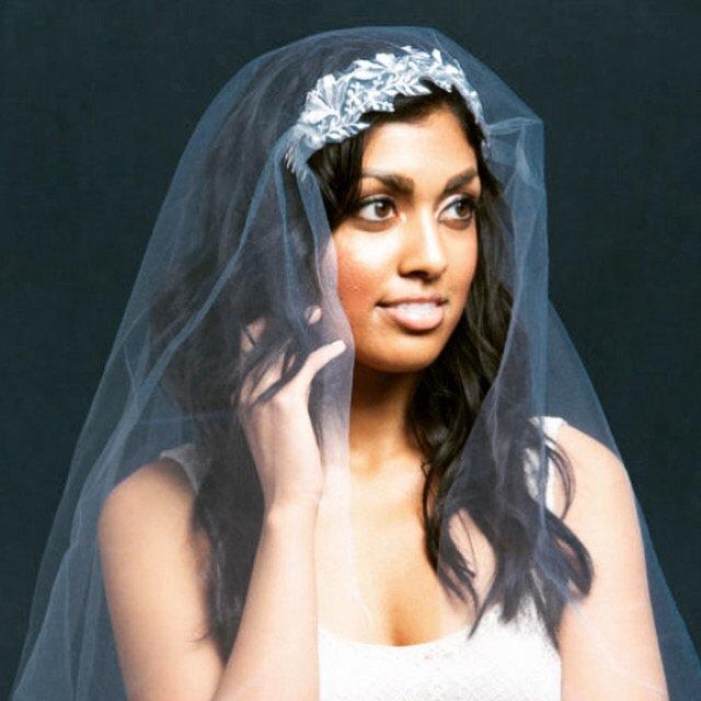 Свадьба - Wedding Veil Juliet Cap Veil Lace Veil, Shoulder Veil, Fingertip Veil, Ballet Veil, Waltz Veil