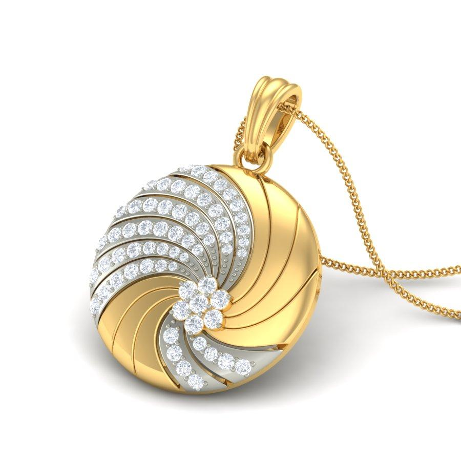 زفاف - Shop the Twirl Diamond Pendants Online