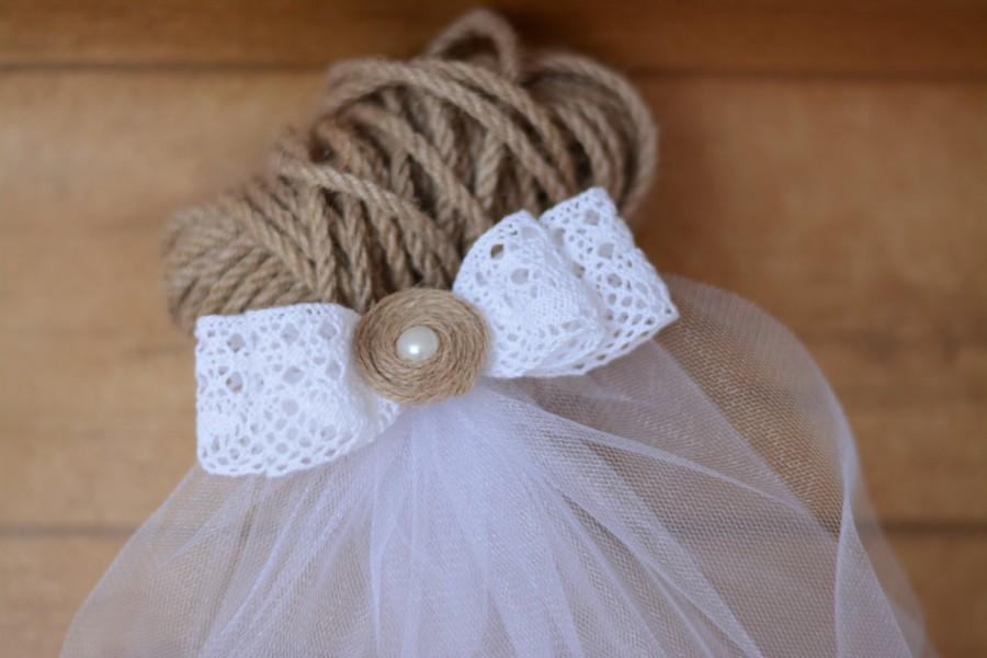 Party Veil Bachelorette Bridal Lace Burlap Bride To Be Rustic Wedding Gift Sash