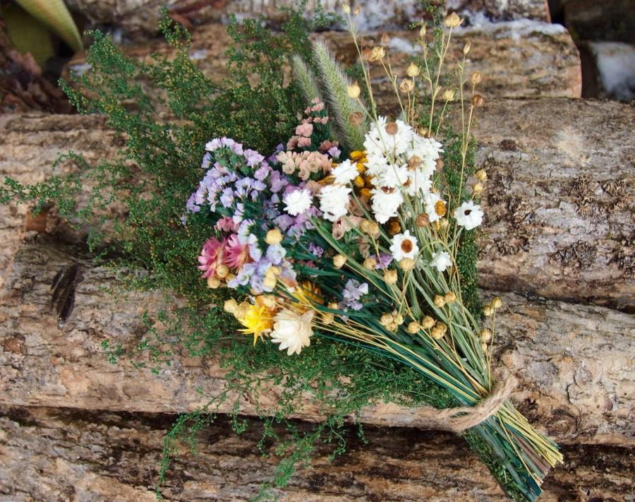 DIY Bundle Of Loose DRIED FLOWERS - Perfect For Rustic Country ...