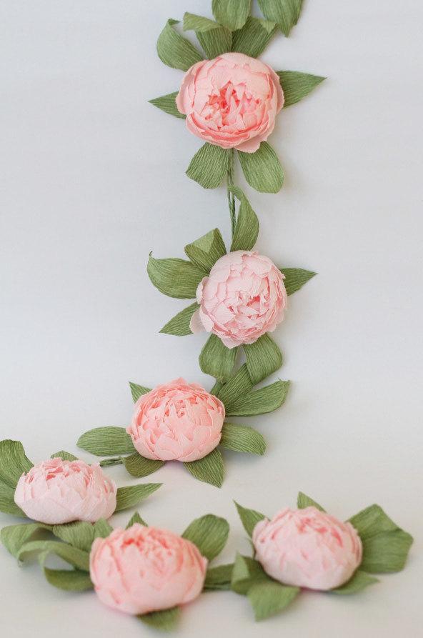 Bridal Garland Wedding Garland Paper Flower Garland