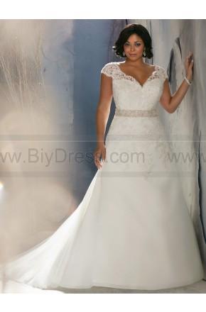 Свадьба - Elegant Flowing A-line Bridal Dress Julietta By Mori Lee 3144 - Plus Size Wedding Dresses - Formal Wedding Dresses