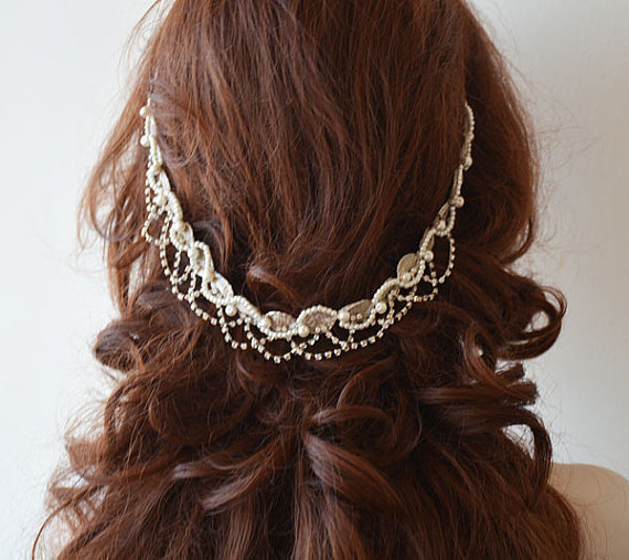 Wedding - Wedding Hair Jewelry, Bridal hair jewellery, Wedding Headpiece, Wedding Headband, Bridal Headpiece, Wedding Hair Accessory