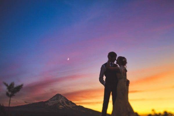 Свадьба - Pacific Northwest Wedding At Mt Hood Organic Farms