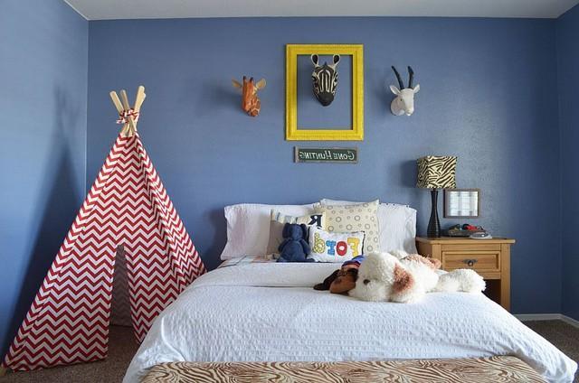 Mariage - 35 Kids' Bedrooms Design: Showcasing Stylish Chevron Patterns - 2015 Homedesignram