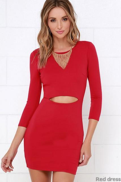 8b003526f47 2016 Beautiful Red Dress - Women Evening Dress - 2015 Homedesignram ...