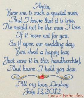 Wedding Day Letter To Bride.Mother In Law Wedding Gift From Bride Personalize