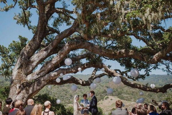 زفاف - Laid-Back California Wedding In The Woods