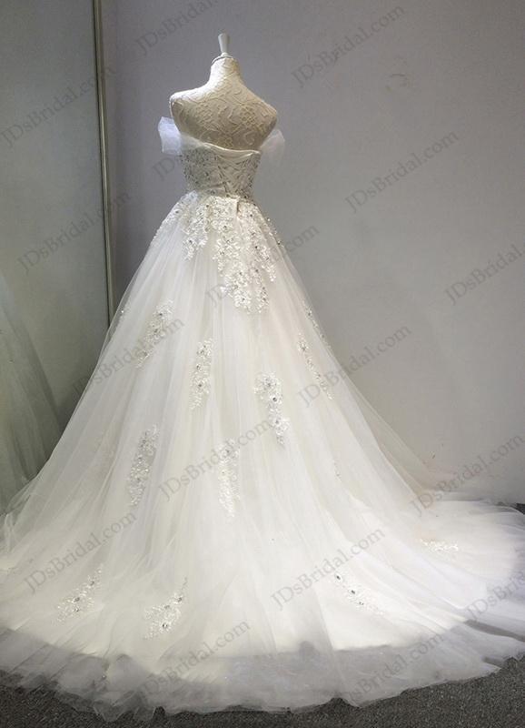 Jw16202 Fairy Tale Crystal Details Sweetheart Neckline Princess Ball