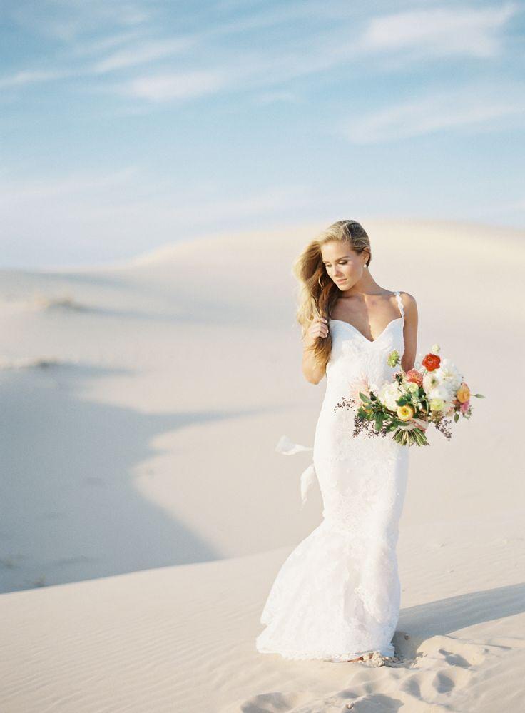 زفاف - Sunset Desert Elopement Inspiration