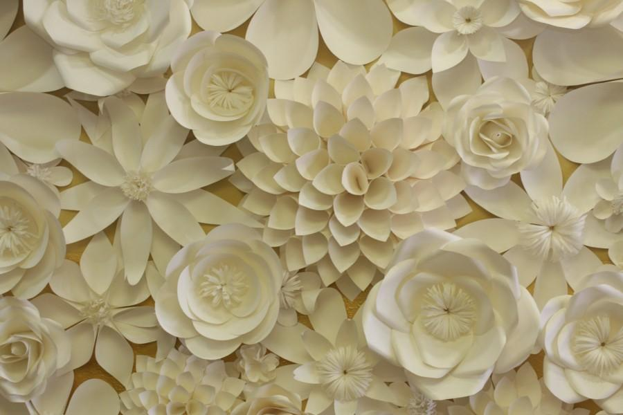 Paper flowers backdrop 2x4ft wedding flower wedding bouquet photo paper flowers backdrop 2x4ft wedding flower wedding bouquet photo prop wall flowers mightylinksfo