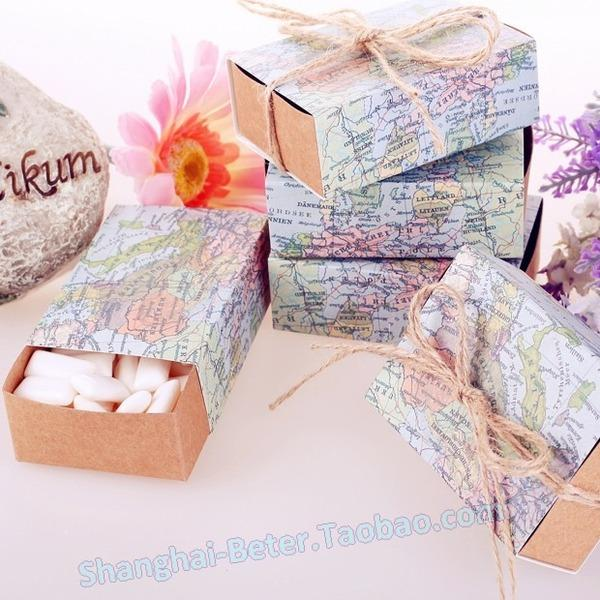 Pcs wedding layout ring tour world map candy box creative candy pcs wedding layout ring tour world map candy box creative candy personalized gift thank th031 gumiabroncs Image collections