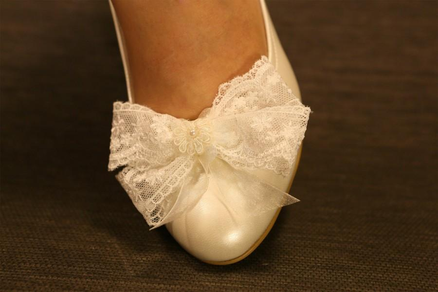 Wedding Shoes, Ivory Wedding Shoes, Low Heel Wedges , Ivory Wedges ...