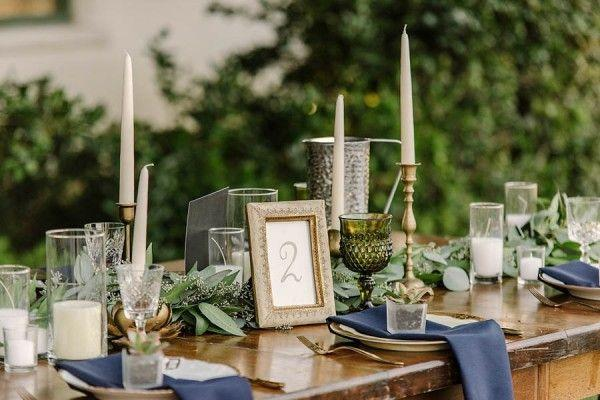 Mariage - Sophisticated Gold And Sage Green Wedding In California