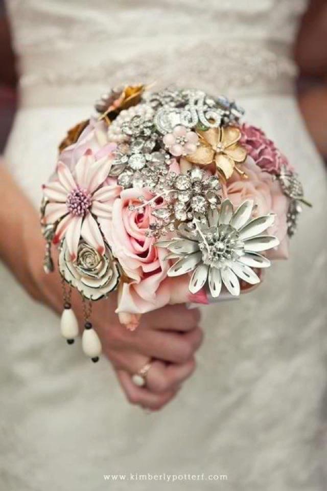 Свадьба - Brooch Bouquet Deposit Custom