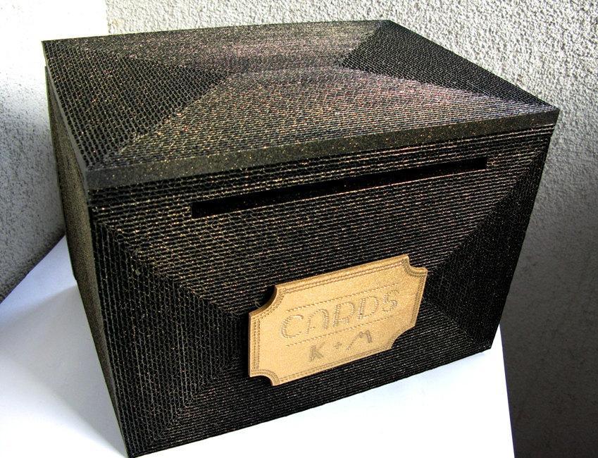 Wedding Card Boxcard Box Wedding Card HolderBlack Gold Card Box – Large Wedding Card Box