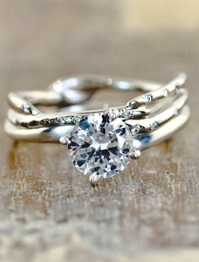 bride wedding traditional best nontraditional engagement non emmaline rings