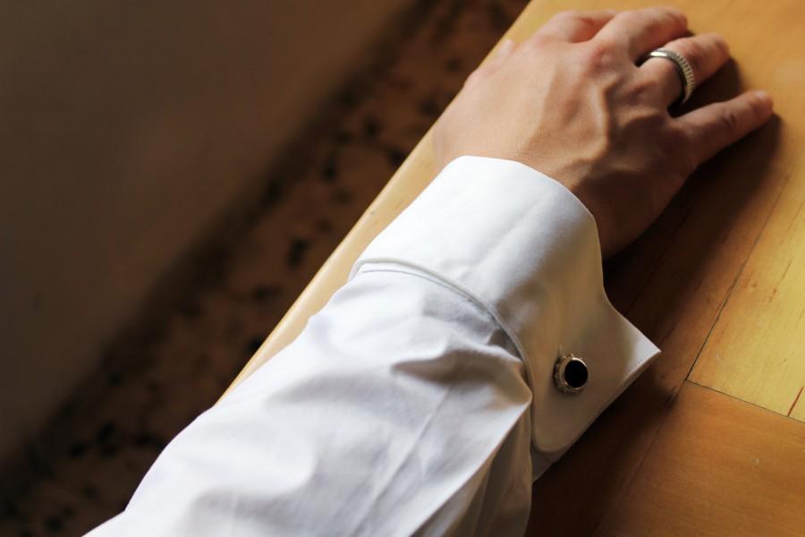 زفاف - Wedding Cufflinks, Groom Cufflinks, Custom Bride And Groom Initials