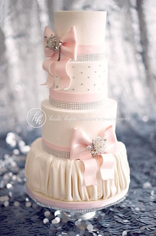 Mariage - Pink Wedding - Pale Pink Bling  #2052957