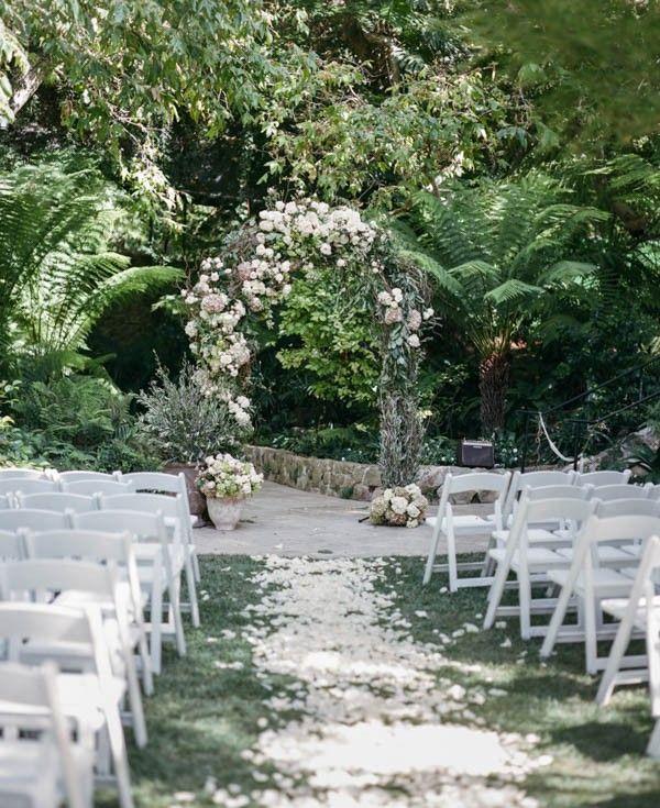 Understated Hotel Bel Air Wedding In Los Angeles