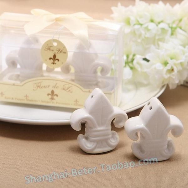 Свадьба - 法式巴黎风鸢尾花胡椒罐TC012婚礼礼物 花嫁新娘用品 双满月派对
