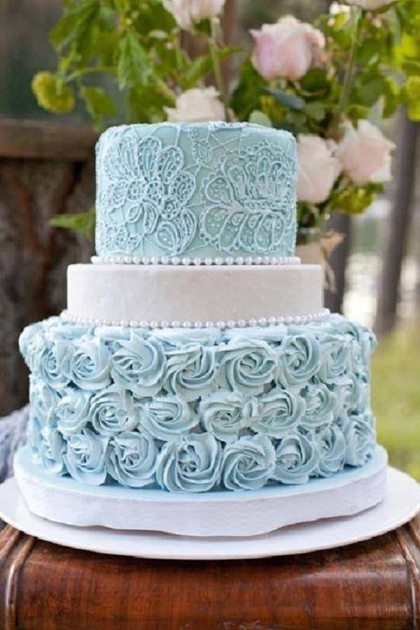 Свадьба - Rosettes — Round Wedding Cakes