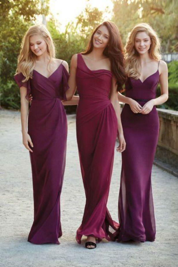 Bridesmaid - In Praise Of The Long Bridesmaid\'s Gown #2469923 - Weddbook