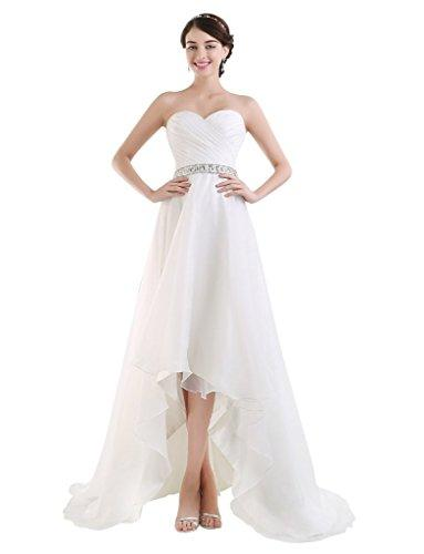 Wedding - Sweetheart High-Low Wedding Dress