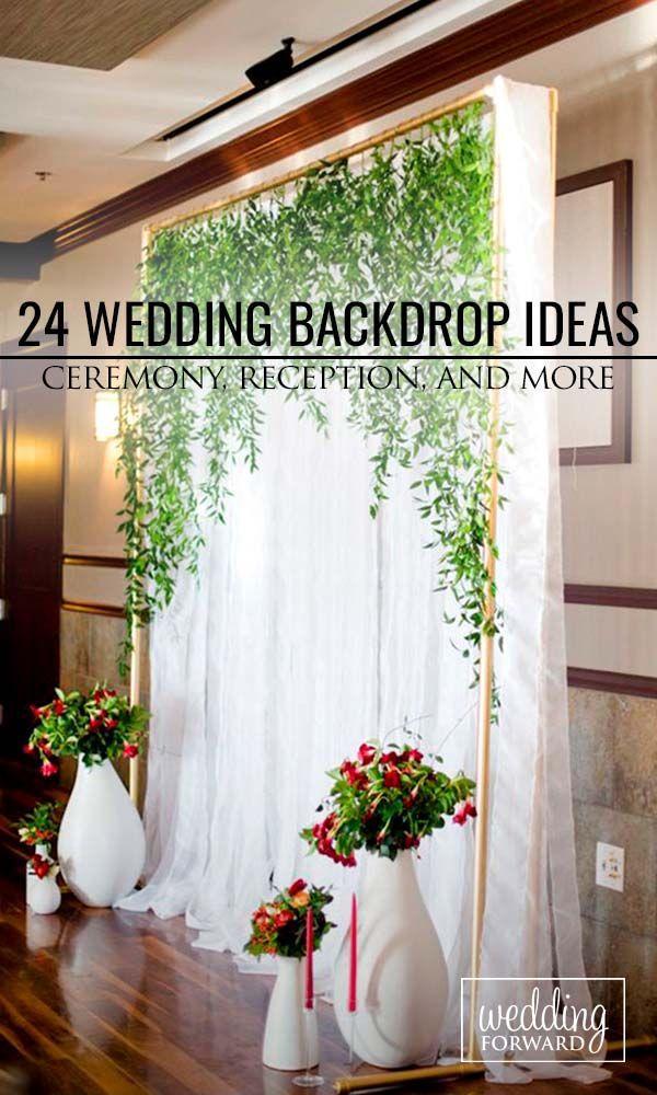 30 Wedding Backdrop Ideas For Ceremony, Reception & More #2470050 ...