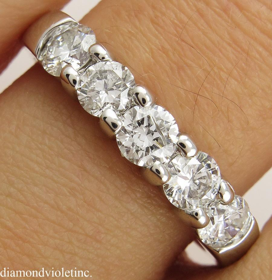 bands gold row diamond long eternity s pave band white jewelers products