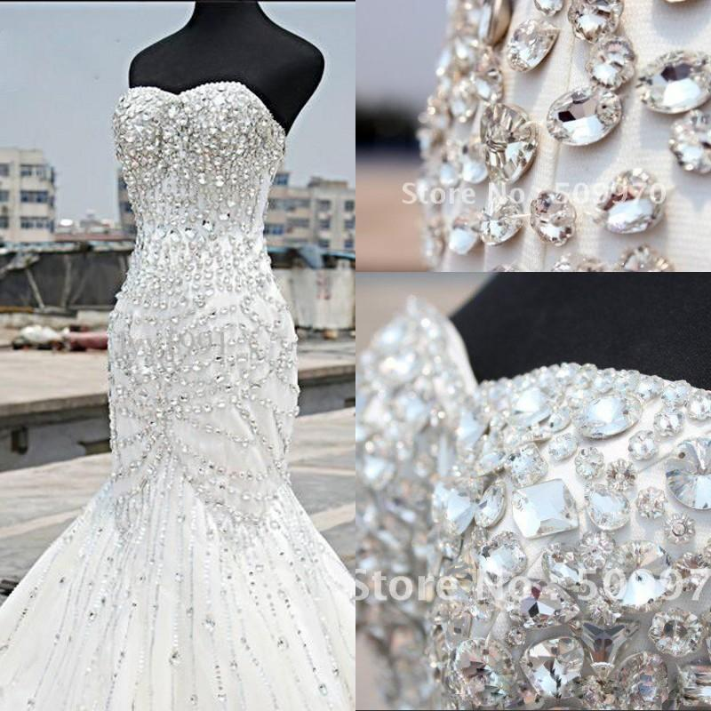 2016 unique design wedding dresses mermaid sweetheart for Custom wedding dress online