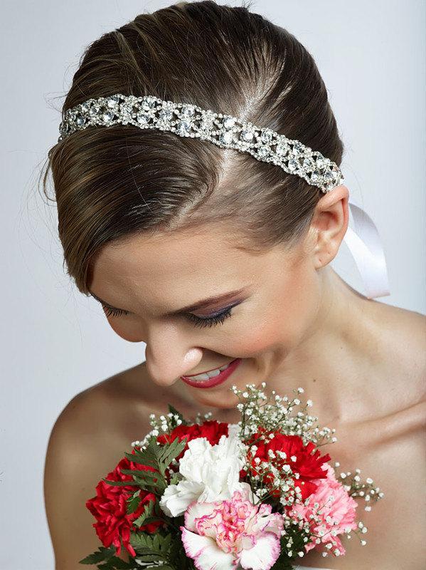 Wedding - SALE JOY crystal headband