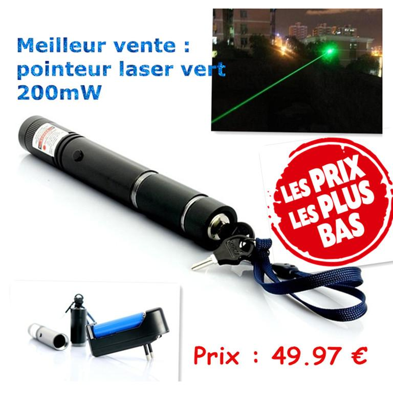 Свадьба - HTPOW Acheter Pointeur Laser Vert 200mW