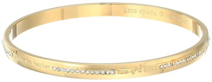 Kate Spade New York Pave Bridesmaid Idiom Bangle