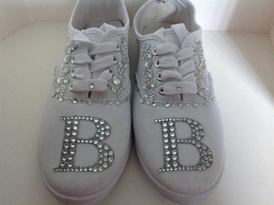 crystal wedding sneakers bridal sneakers wedding shoes bridal shoes rhinestone sneakers bridesmaid sneakers bling sneakers dance sneakers