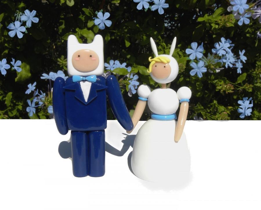 Hochzeit - Adventure Time Wedding Toppers