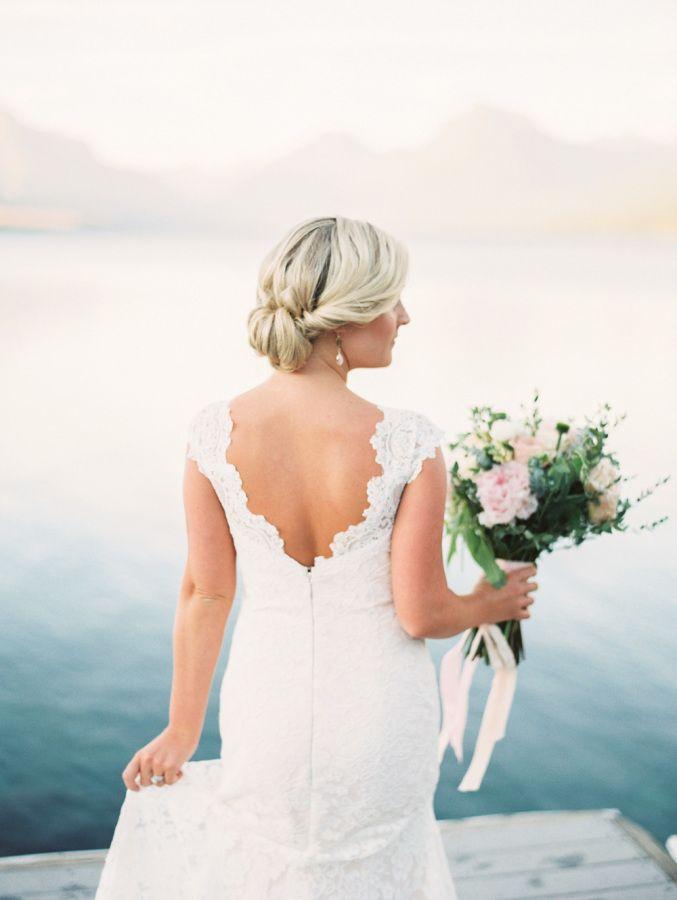 Свадьба - Intimate Glacier National Park Wedding