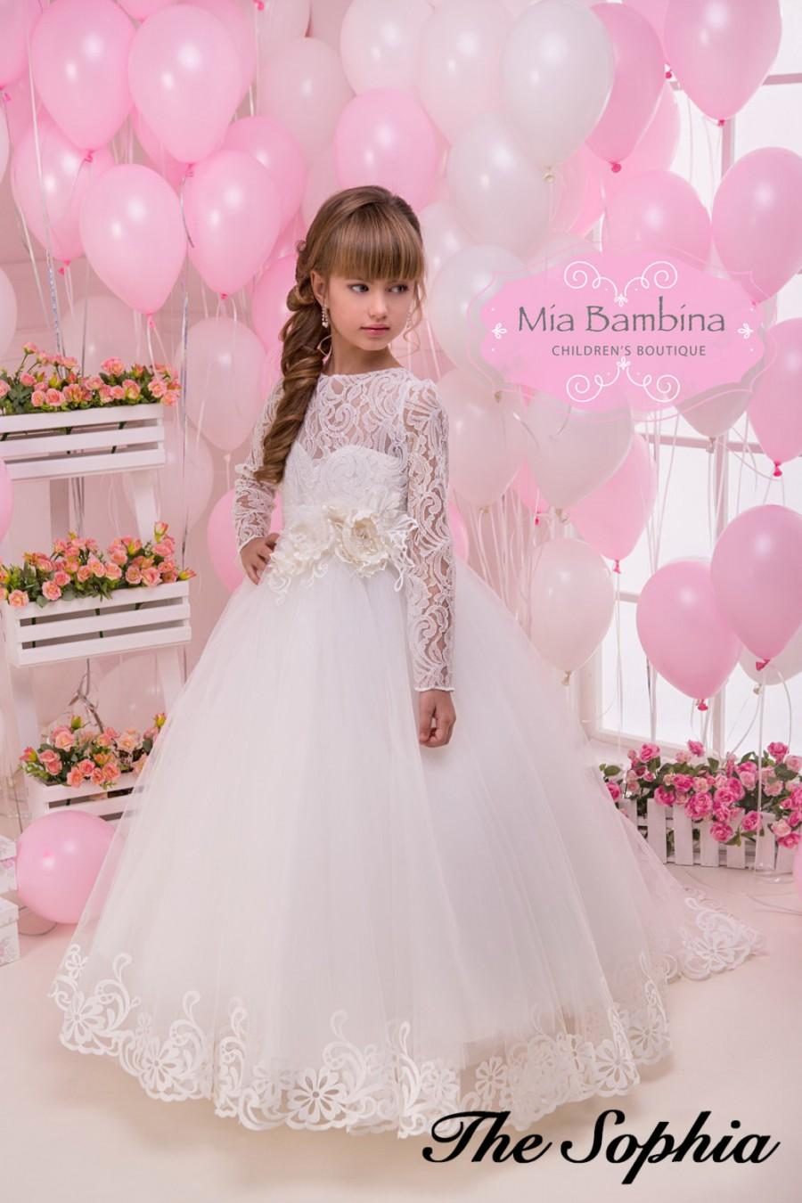 Gypsy Flower Girl Dress