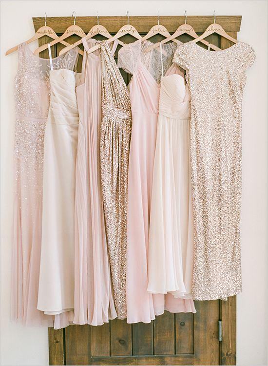 Wedding Theme Natural Chic Pink And Gold Wedding 2471231 Weddbook