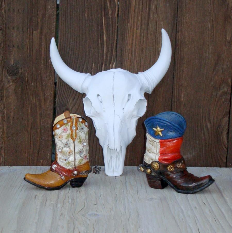 Wedding - Rustic Wedding Boot Cake Topper...     His & Her Cowgirl + Cowboy Boots  Birthday Cake Topper - Barn - Tractor Wedding