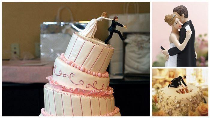 Hochzeit - 17 Increíbles Figuras De Pasteles De Boda Que Te Harán El Día