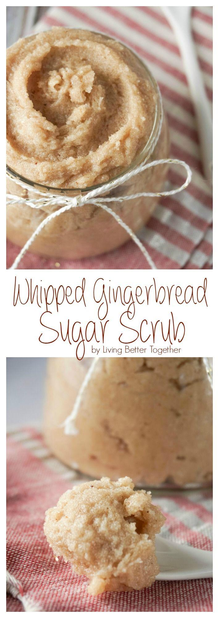 Wedding - Whipped Gingerbread Sugar Scrub - Living Better Together