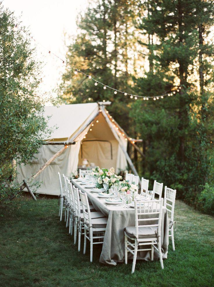 Attractive Intimate Glacier National Park Wedding