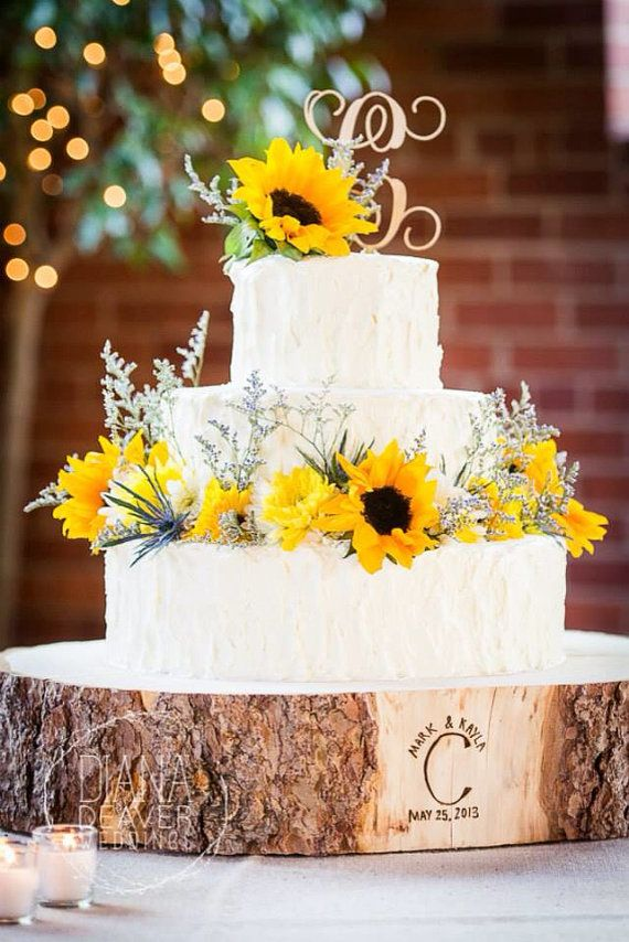 16 STUMP Rustic Wood Tree Trunk Slice Wedding Cake Base Stand Or Photography Prop