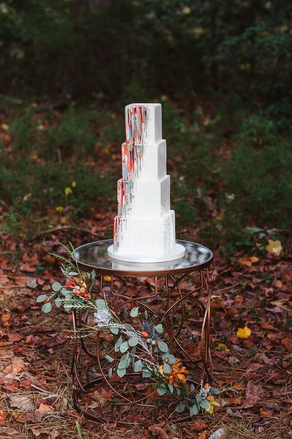 Mariage - Colorful Bohemian Wedding In The Fall